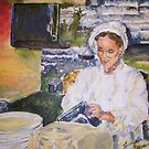 Chefing it Up (Self Portrait) by Jennifer Ingram