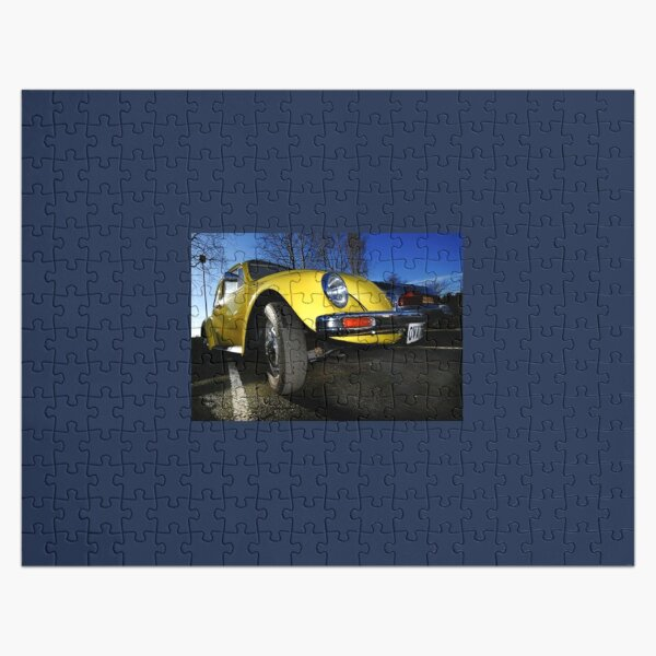 Yellow Beetle....VW Jigsaw Puzzle