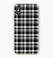 Black & White Plaid iPhone Case