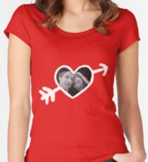 Mr. and Mrs. Pond Women's Fitted Scoop T-Shirt