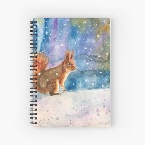 Amid the Winter's Snow Spiral Notebook