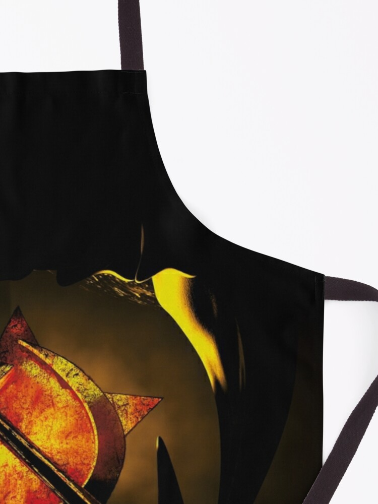 Alternate view of hammer and sickle Apron
