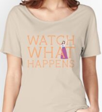 Newsies: Watch What Happens Women's Relaxed Fit T-Shirt