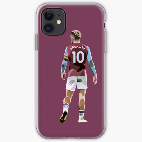 Aston Villa's Jack Grealish iPhone Soft Case