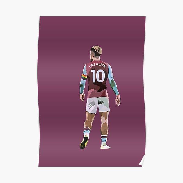 Aston Villa's Jack Grealish Poster