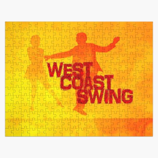 West Coast swing Jigsaw Puzzle