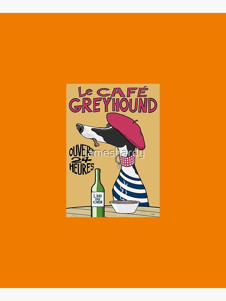 Le Café Greyhound by jameshardy