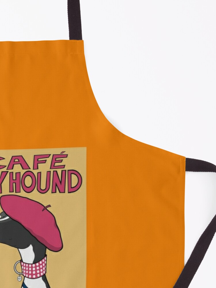 Alternate view of Le Café Greyhound Apron