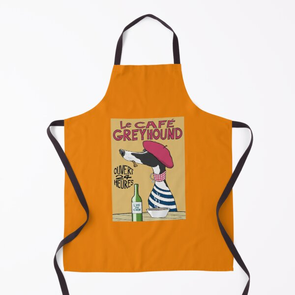 Le Café Greyhound Apron