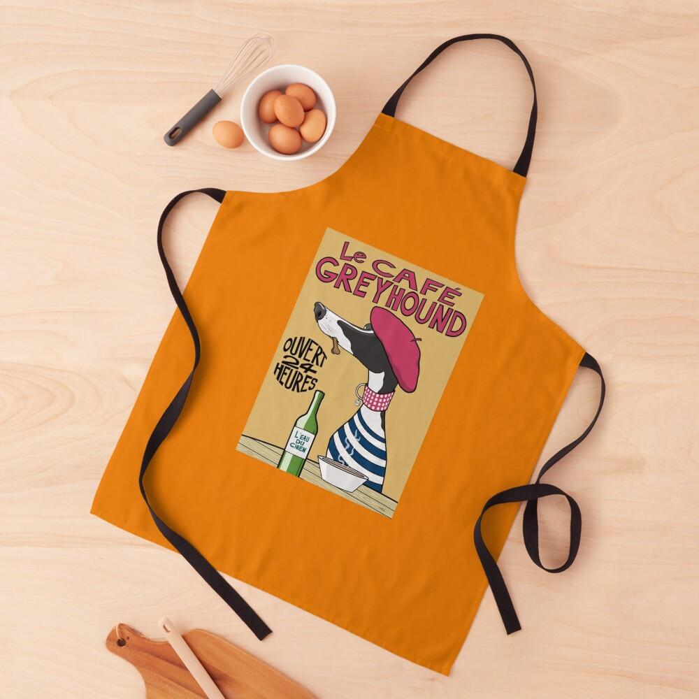 Le Café Greyhound Apron