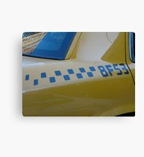 Taxi . . . Canvas Print