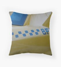 Taxi . . . Throw Pillow