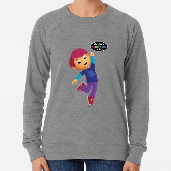 Charlie's Colorforms City - Red Excited Lightweight Sweatshirt