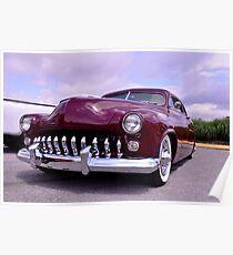 1951 Mercury Lead Sled Poster