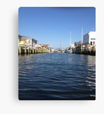 Inlet... Canvas Print