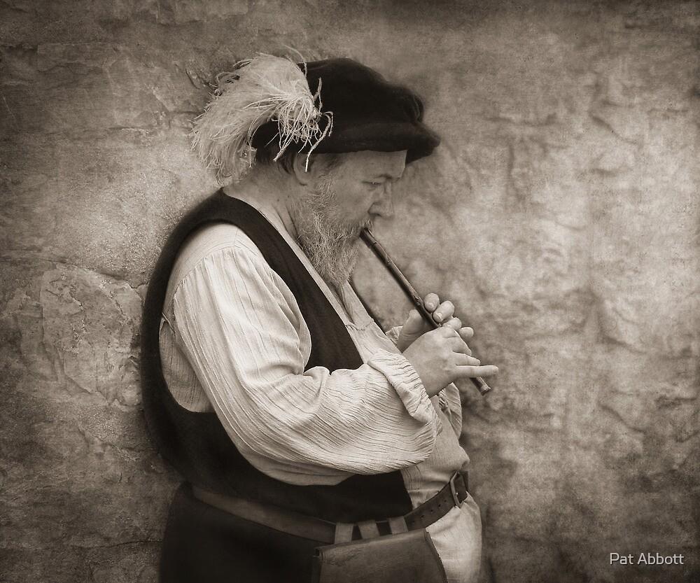 Medievel Flutist by Pat Abbott