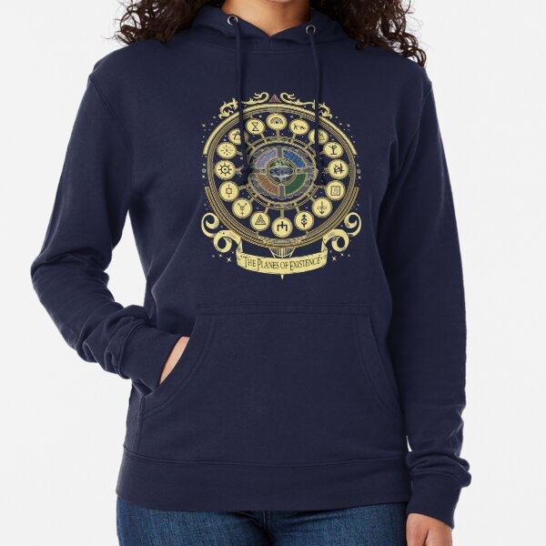 The Planes of Existence  Lightweight Hoodie