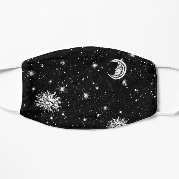 Stars, Moon and Sun Flat Mask