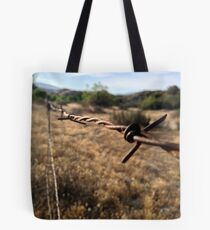 The Barbwire Tote Bag