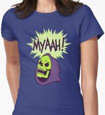 Myaah! Tailliertes T-Shirt für Frauen