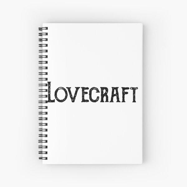 Lovecraft Spiral Notebook
