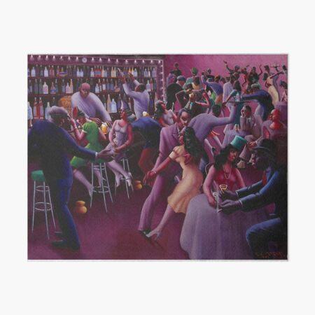 Nightlife - Archibald John Motley Jr Art Board Print