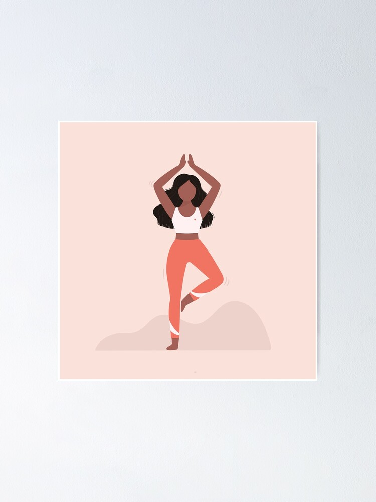 Tree Pose Yoga Poster By Its Jessica Redbubble Yoga therapy is the use of yoga postures, meditation and pranayama to help the body naturally heal and balance itself. tree pose yoga poster by its jessica redbubble
