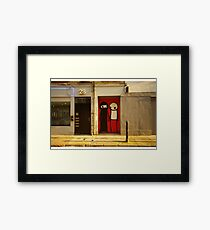 I'm not making a point about people, I'm making a point about doors Framed Print
