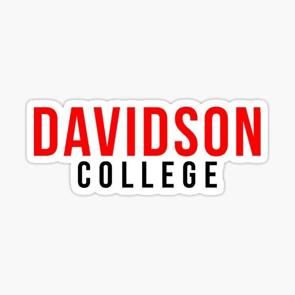 Davidson College Sticker