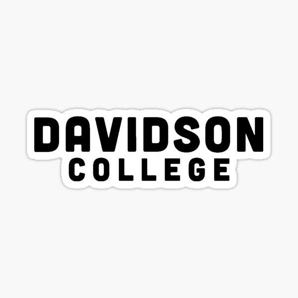 Davidson Sticker
