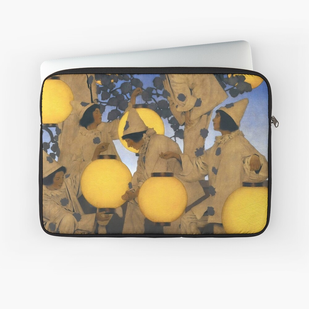 The Lantern Bearers - Maxfield Parrish  Laptop Sleeve