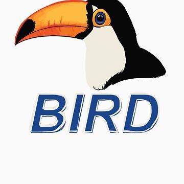 BIRD - Toco Toucan by Sadgi