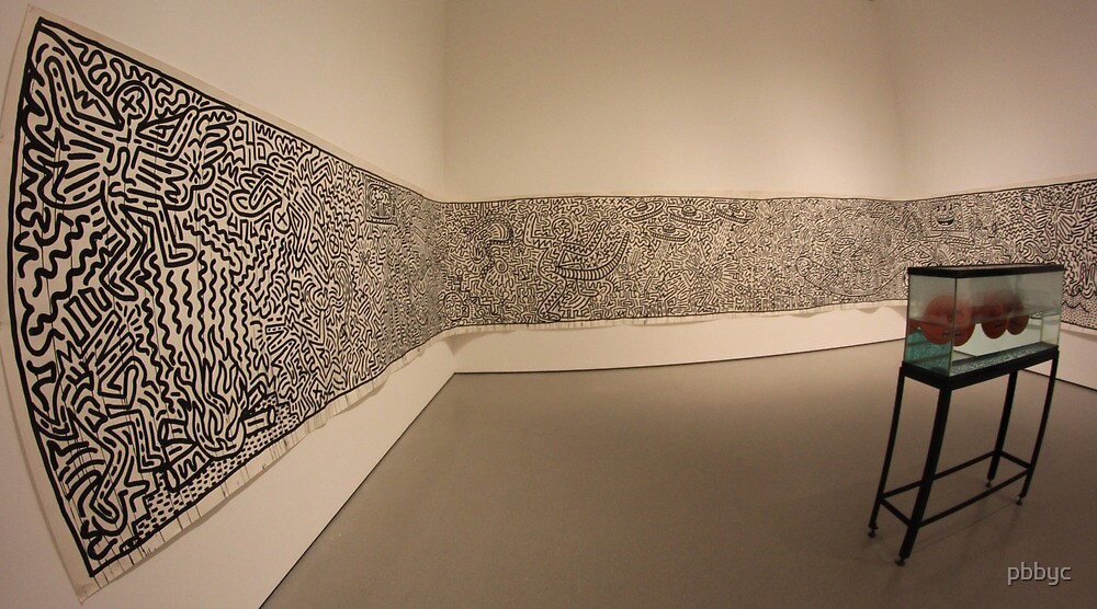 pbbyc - Keith Haring / MoMa by pbbyc