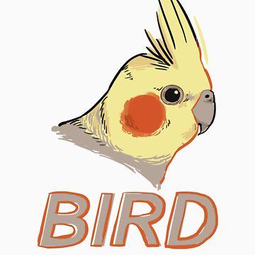 BIRD - Cockatiel by Sadgi
