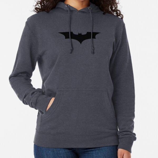 Dark Bat Logo Lightweight Hoodie