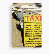 Water taxi, Buzios, Brazil Canvas Print