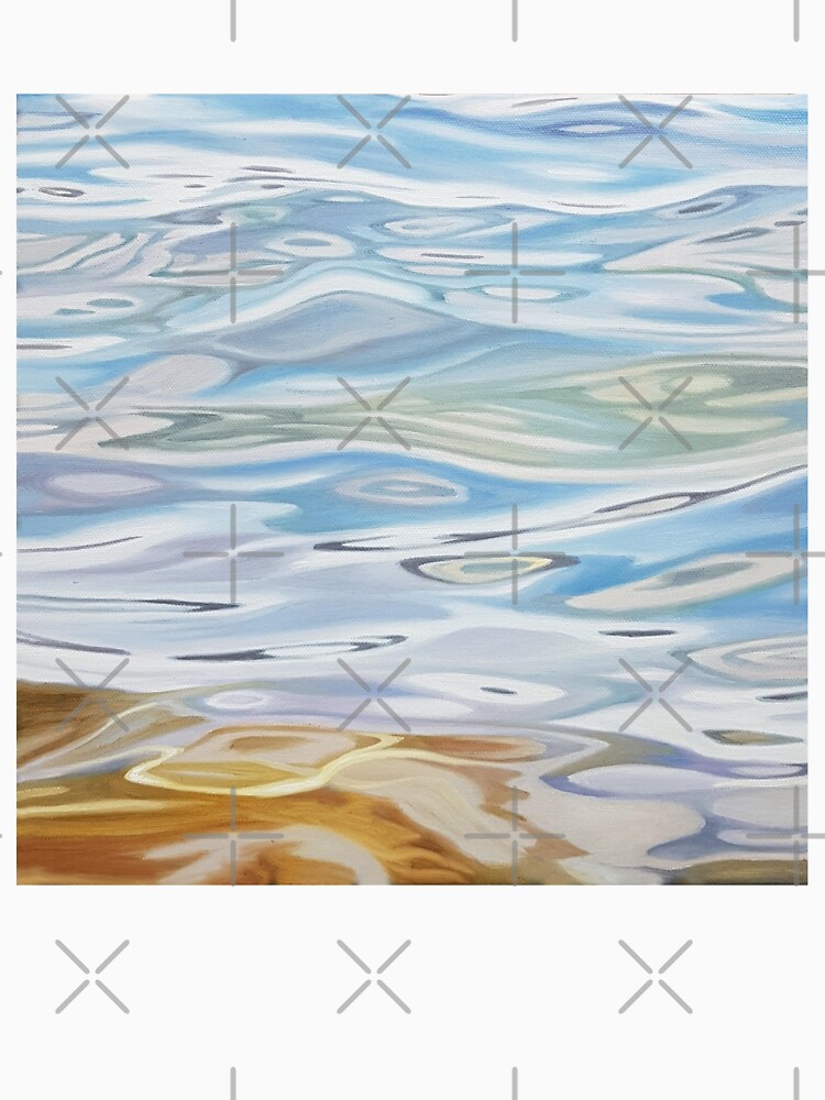Meander - water painting by EmilyBickell