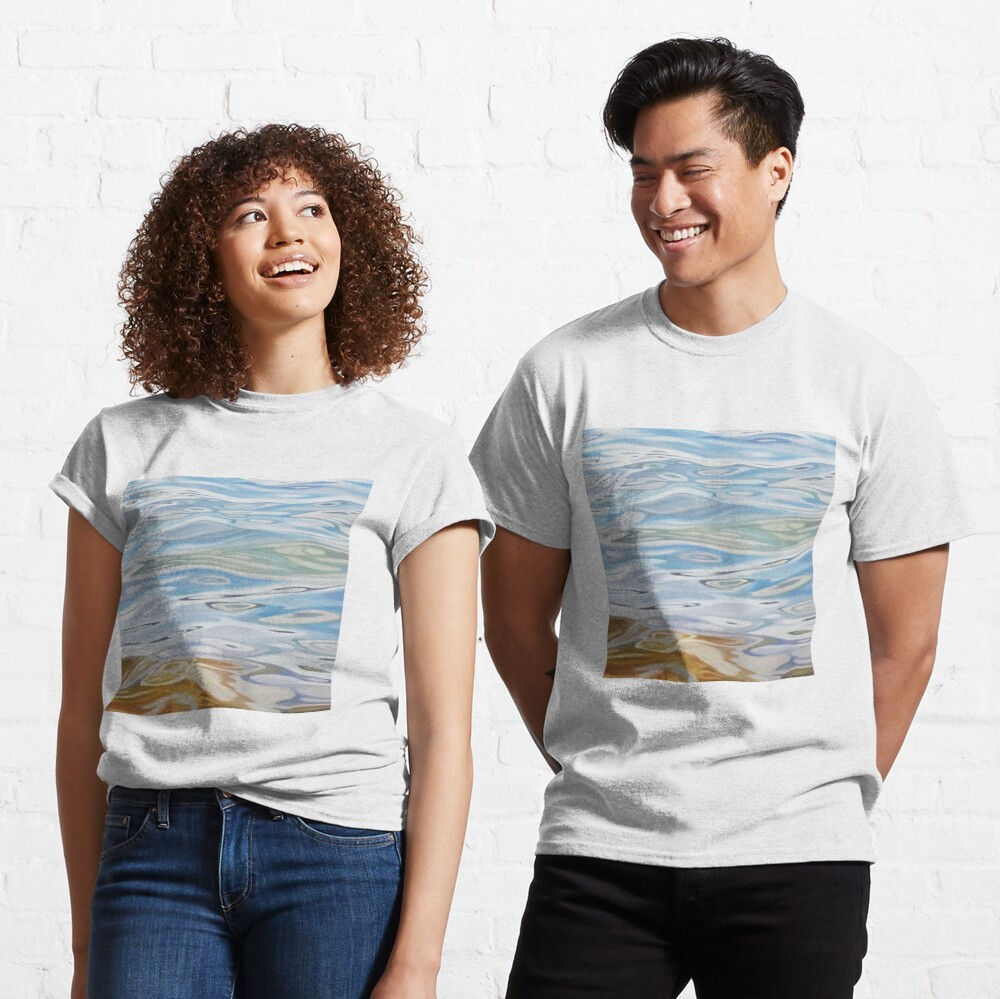 Meander - water painting Classic T-Shirt