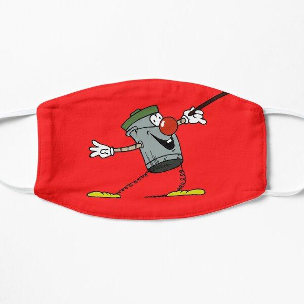 DUSTY BIN MASK (RED) Flat Mask