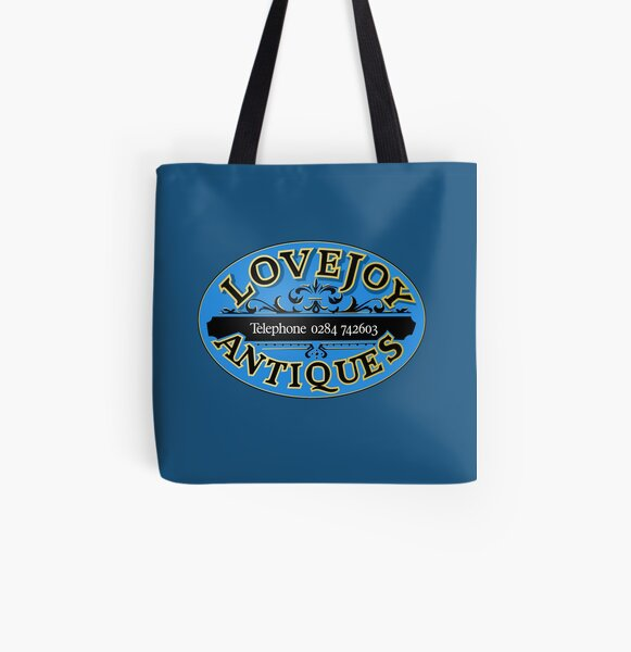 Lovejoy Antiques All Over Print Tote Bag
