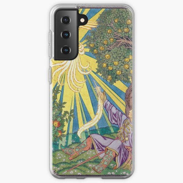 Ivan and the Firebird - Ivan Bilibin Samsung Galaxy Soft Case