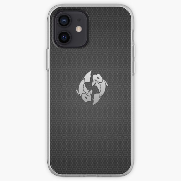 Pisces Metal iPhone, iPad & iPod case iPhone Soft Case