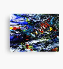 Moto Speeds Canvas Print