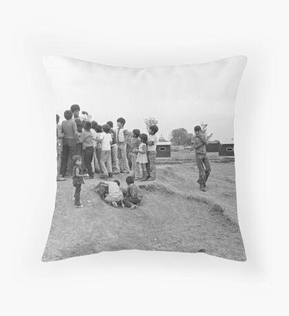 Sad Day for Photojournalism  Throw Pillow