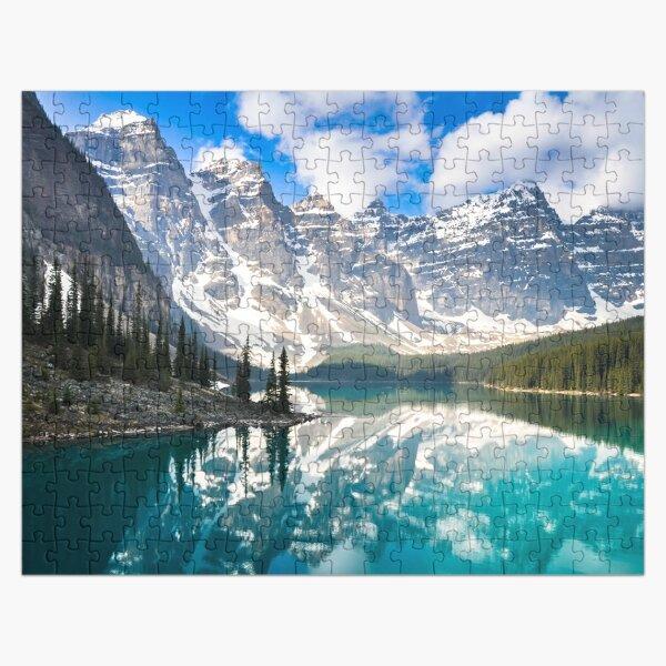 Beautiful Canadian Mountains Advanced Adults Jigsaw Puzzle