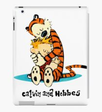 Hug Calvin and Hobbes iPad Case/Skin