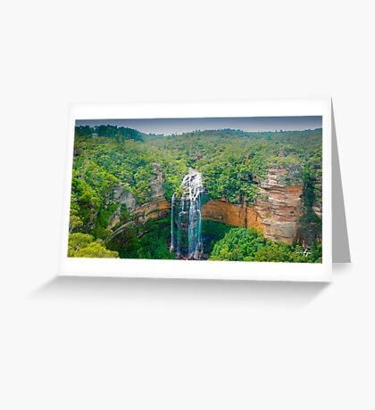 Wentworth Falls Greeting Card