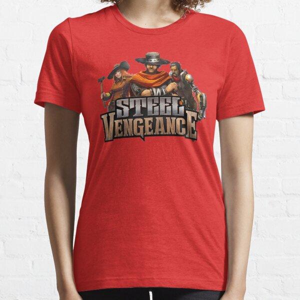 Steel Vengeance Characters Logo Essential T-Shirt
