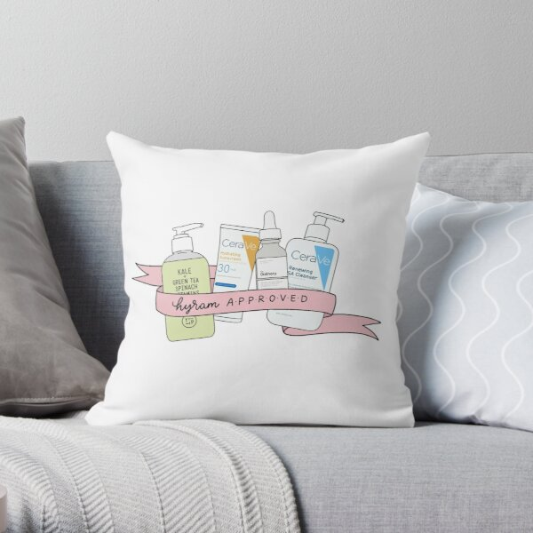 Hyram Approved Throw Pillow By Tritymely Redbubble