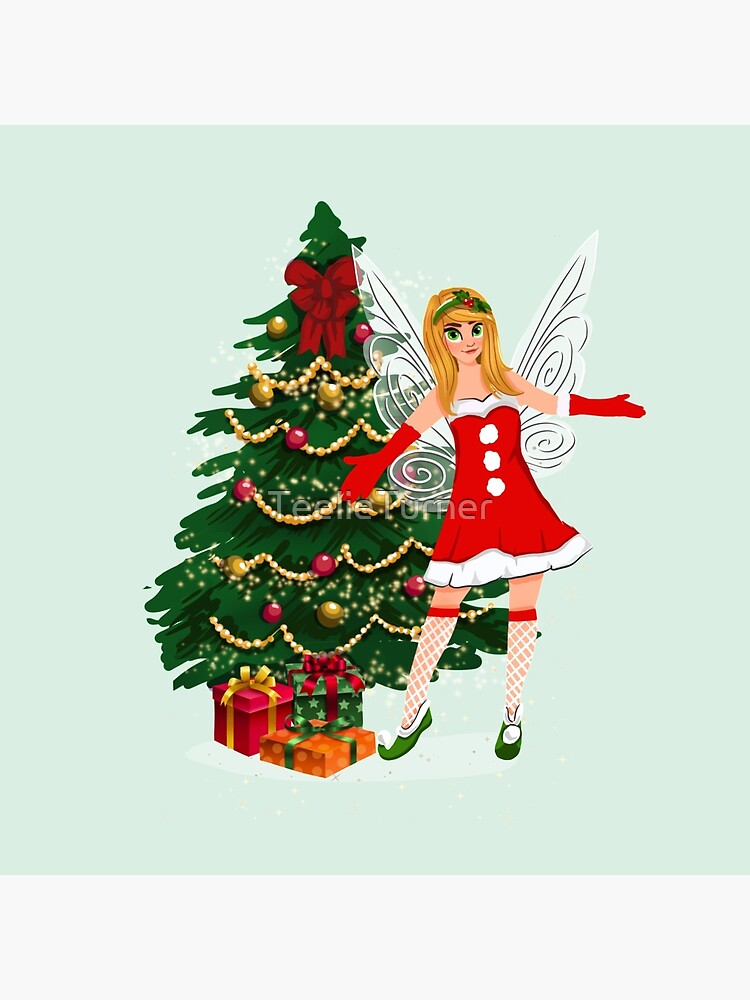 Greetings Fairy Lovers This Is Holly's Magical Fairy Tale Christmas™ by TeelieTurner